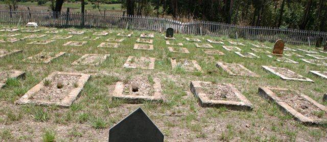 Balmoral concentration camp cemetery