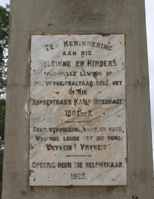 Uitenhage Concentration Camp Cemetery