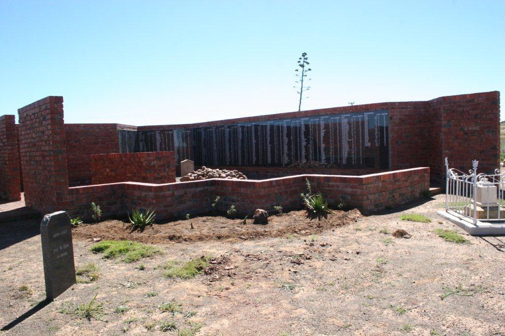 Springfontein Konsentrasiekamp Begraafplaas