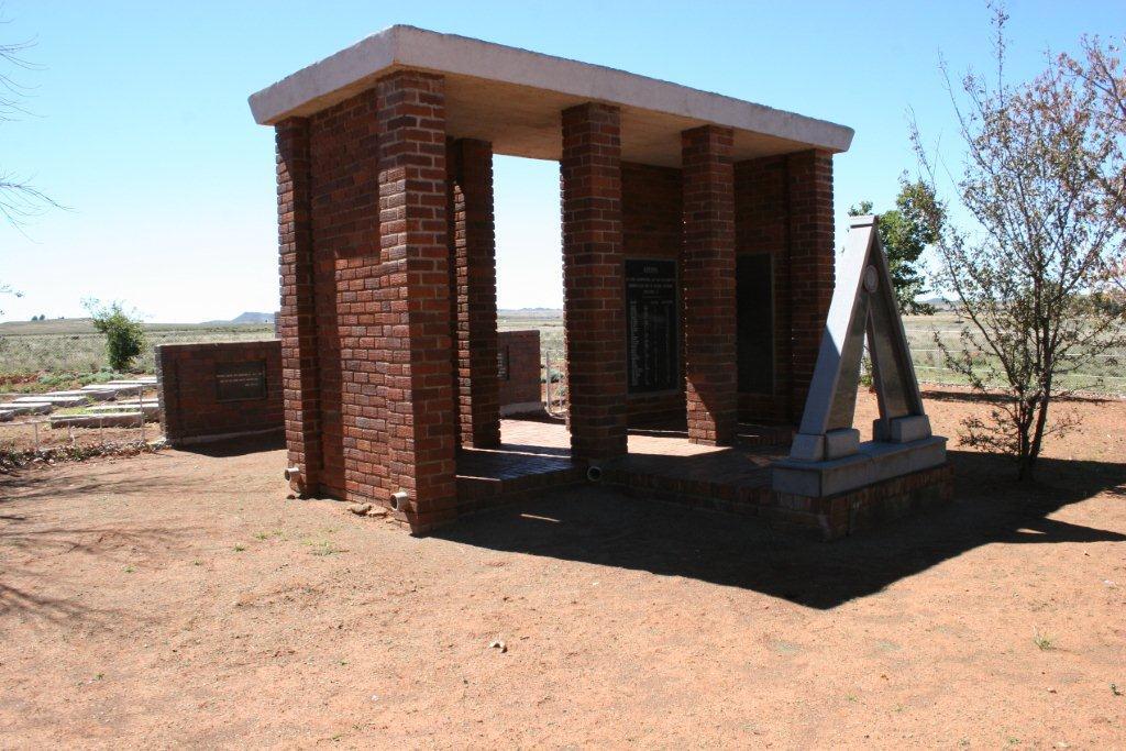 Springfontein Konsentrasiekamp Begraafplaas vir Ongedoopte kindertjies