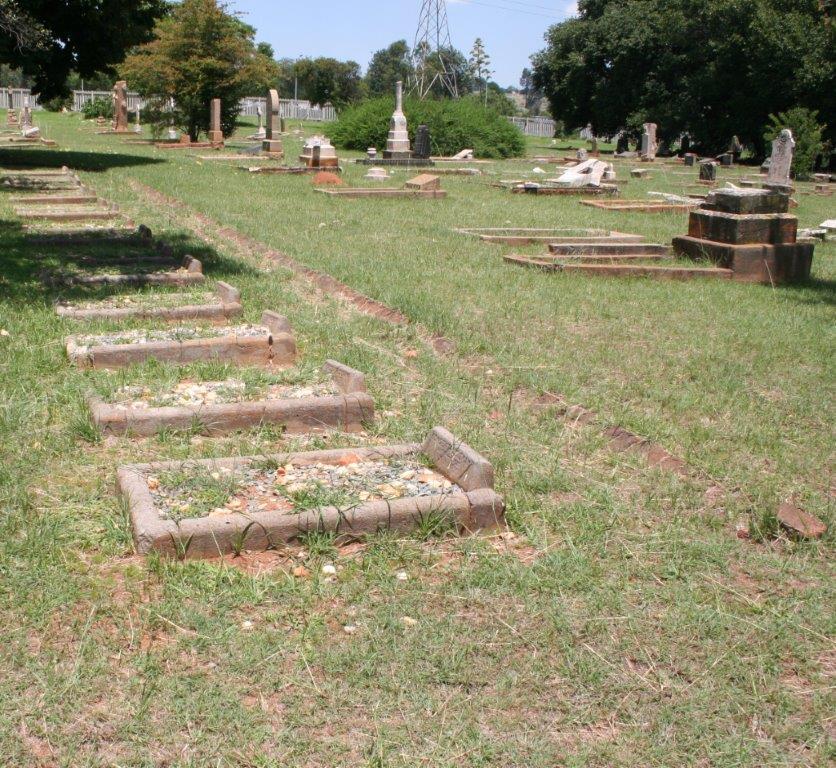 Krugersdorp Konsentrasiekamp Begraafplaas